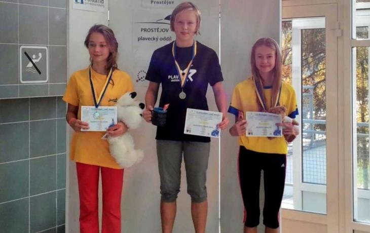Šest medailí pro Broďanky