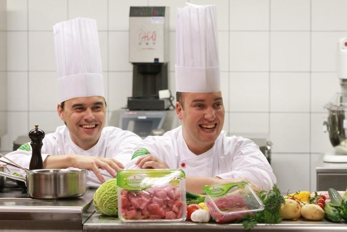 Kluci v akci hosty Slovácké jídelny