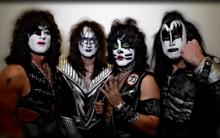 Festival malých pivovarů ozvláštní Kiss Forever Band