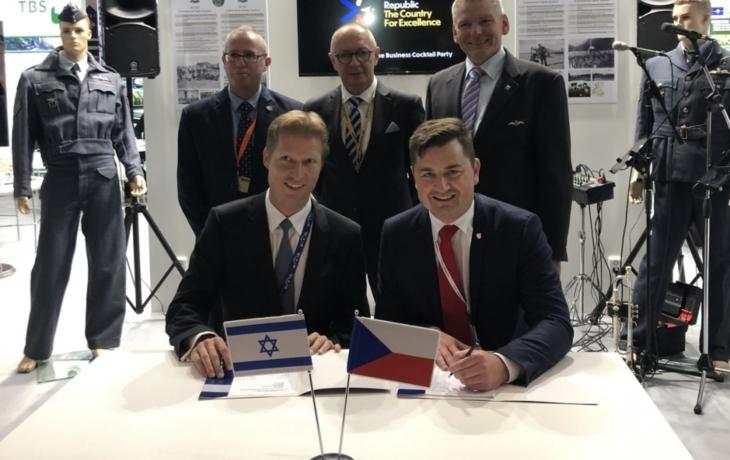 Ray Service podepsal na londýnském veletrhu smlouvu s izraelskou firmou Beth-El