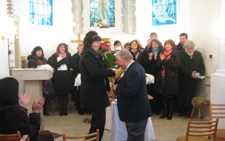 Sbormistr v rodné obci koncertoval po padesáti letech
