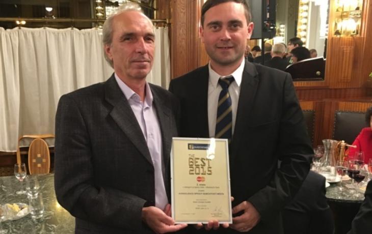 Město získalo ocenění za systém kontroly nedoplatků