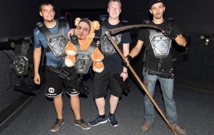 DeathRun míří na šampionát v Laser game