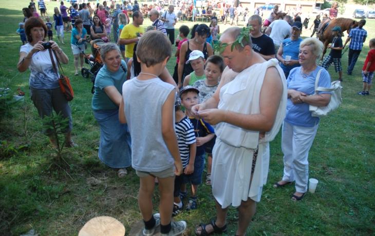 Antická Olympie vyrostla v úpatí Chřibů