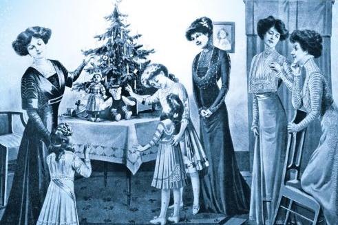 Vánoční obdarování na zámku