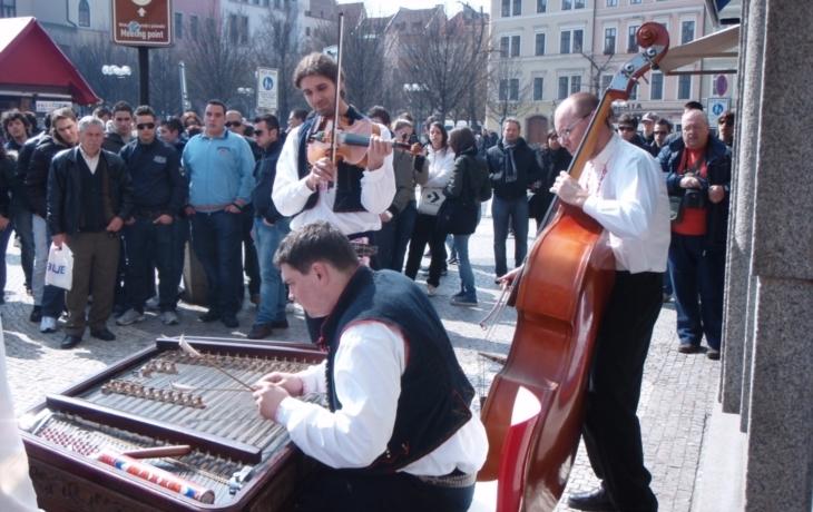 Slovácko zářilo v Praze