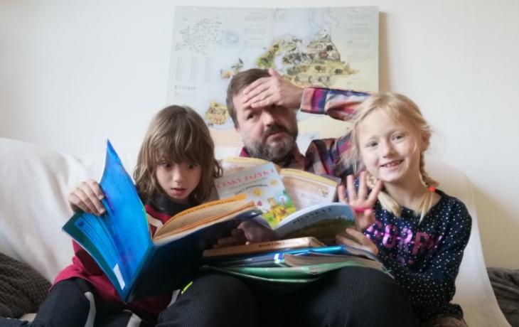 Pedagog Petr Čagánek učí děti a říká: Už nikdy!