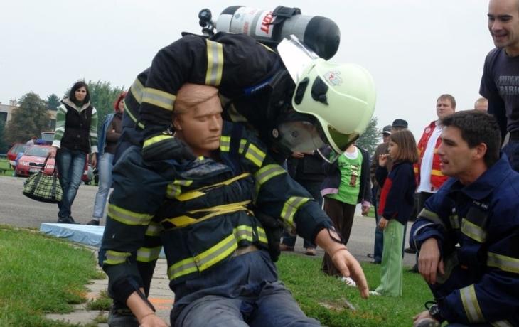 Zbyněk Kadlčík je netvrdším dobrovolným hasičem v zemi
