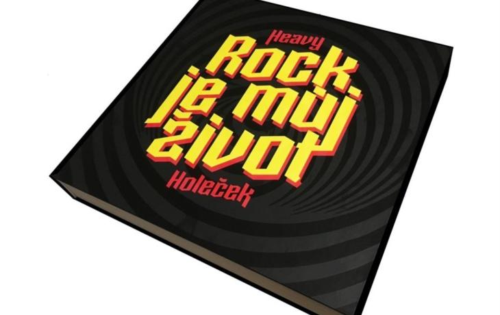 Heavy Holeček vydal rockerskou bibli