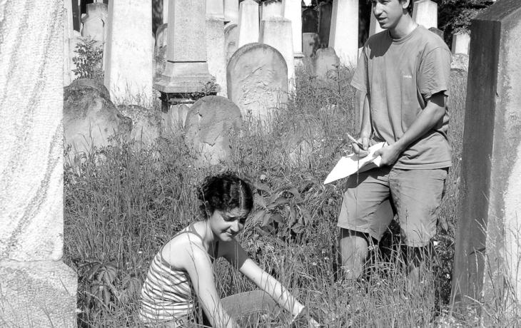 Vandal poničil desítky pomníků