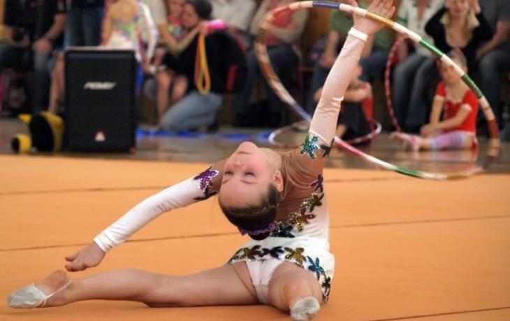 Veselské gymnastky zářily