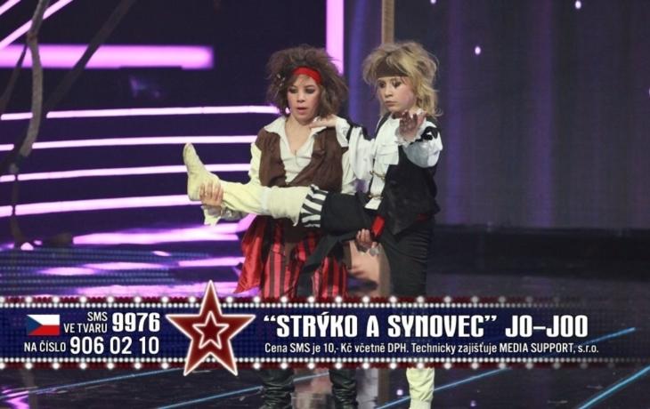 Show Strýc a synovec z Talentu v Hradišti