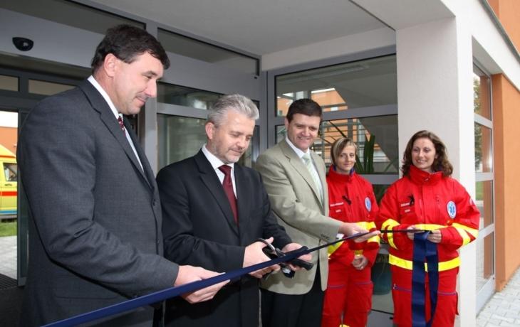Záchranná služba má nové krajské středisko