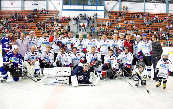Hokejové hvězdy opět pomáhají potřebným