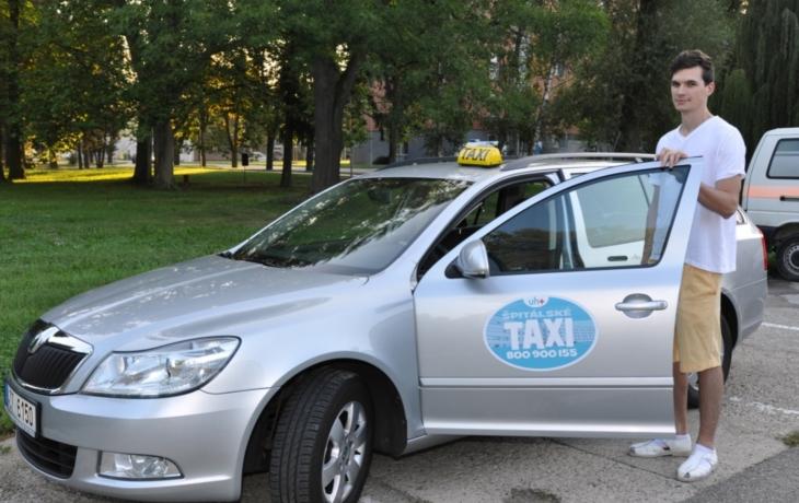 Novinka pro pacienty: Špitálské taxi!
