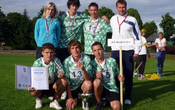 Atleti z Bojkovic mají fantastické stříbro ze čtyřboje!