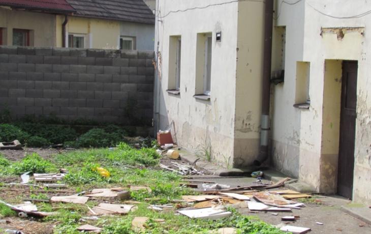 Z chudobince jsou moderní bytovky