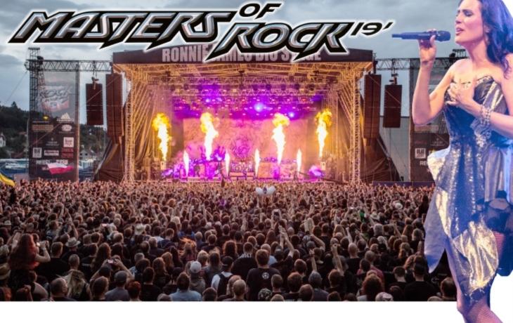 Masters of Rock nabídne tři obrovské produkce