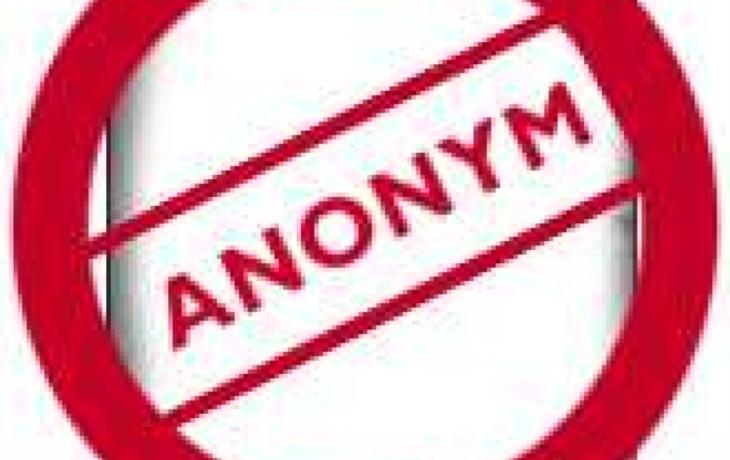 Starosta si píše s anonymem