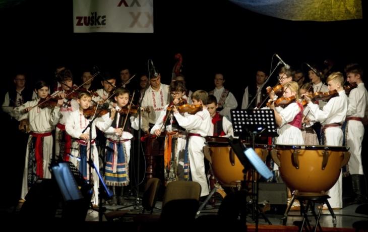 Diváci zůstali v úžasu nad Slováckou filharmonií
