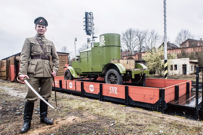 Legionářské vlaky čeká v Hradišti premiéra