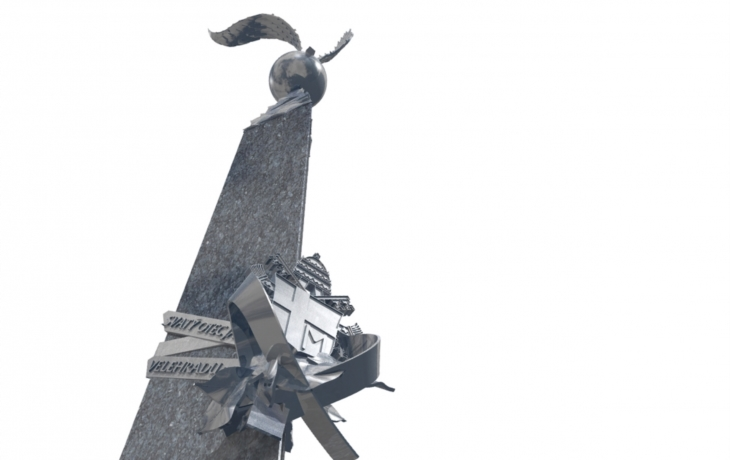 Obří památník připomene přistání papeže Jana Pavla II. na hřišti v Tupesích