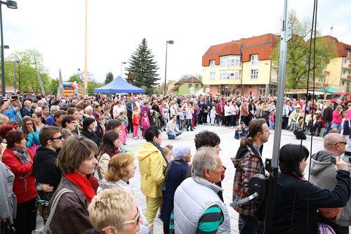 Bojkovice otevřely náměstí Náměstí