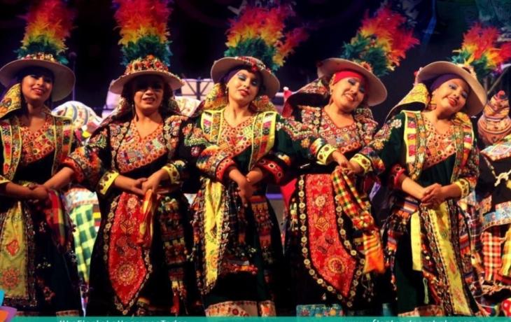 Světlovan tančí v Ekvádoru