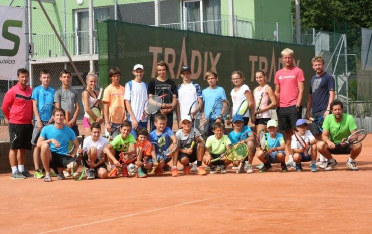 Tenisové talenty učil Tabara