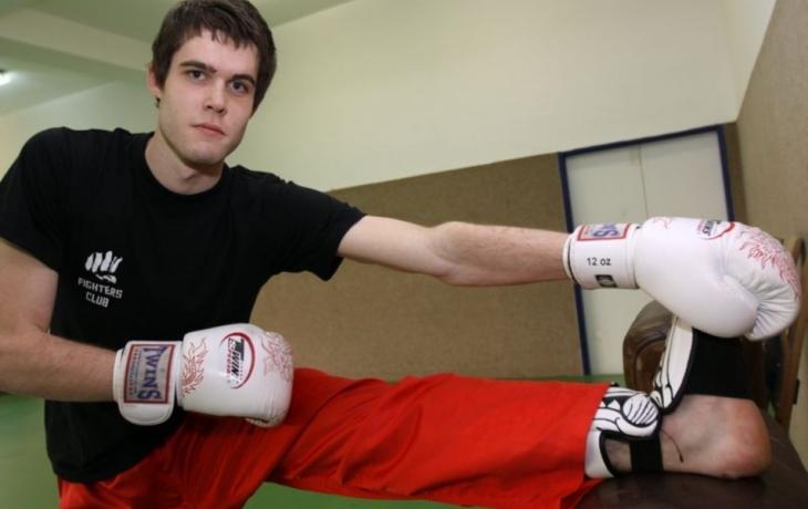 Kickboxer Martin Borek šokoval bronzem