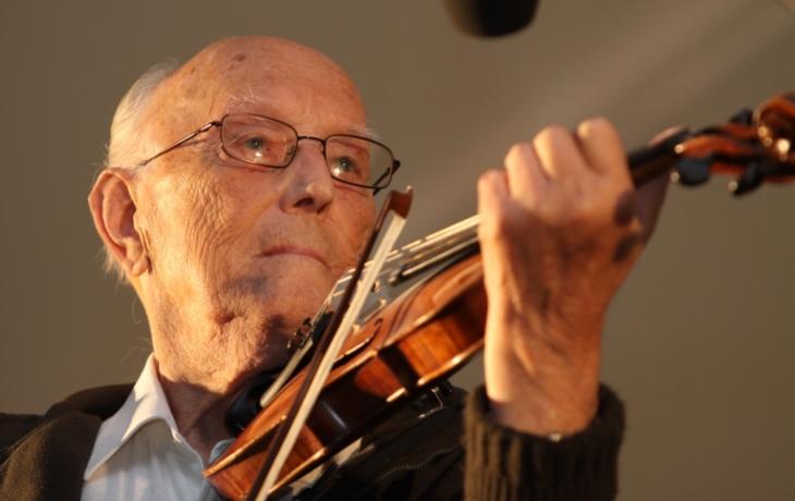 Folklorista František Hamada oslavil veformě 105. narozeniny!