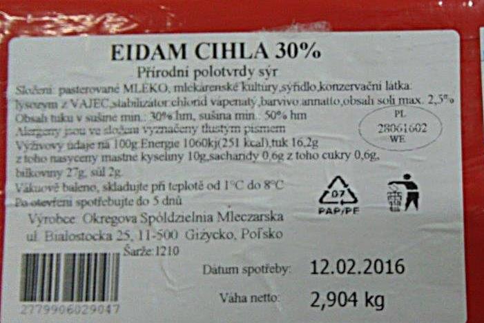 Falešné sýry šly na trh ze Slovácka