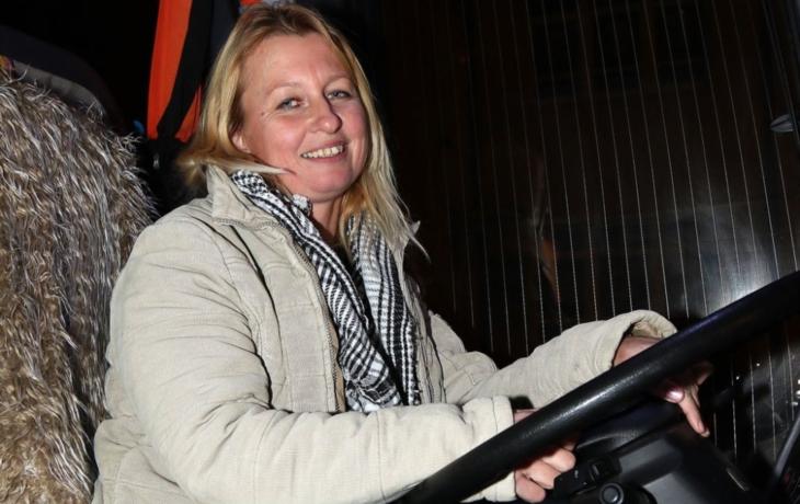 Mistřický autobus kočírovala žena