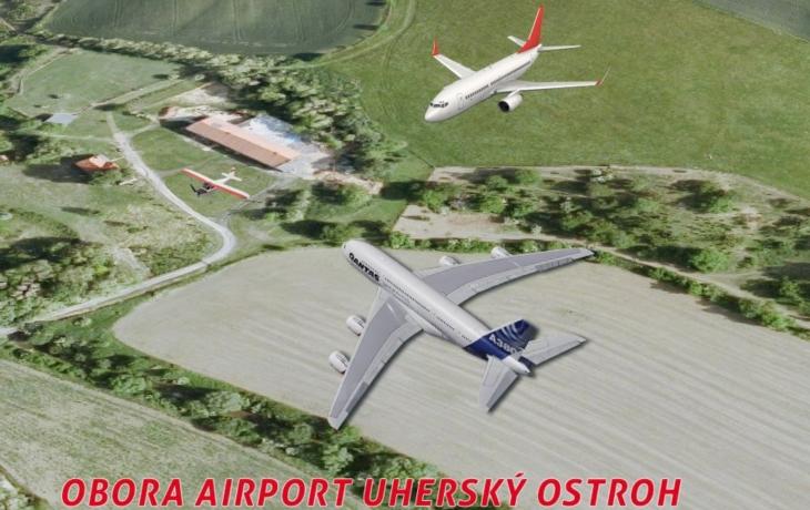 V Uherském Ostrohu plánují podzemní dráhu, letiště i sklad jaderného odpadu