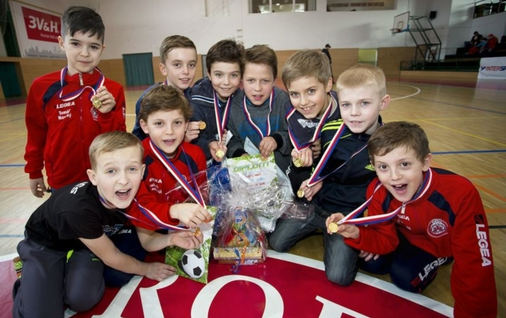 Gazda cup ovládli mladí fotbalisté ČSK