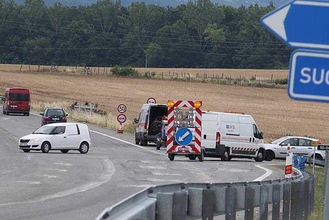 Řidiči, pozor! Na cestě na Slovensko a do Zlína to vázne