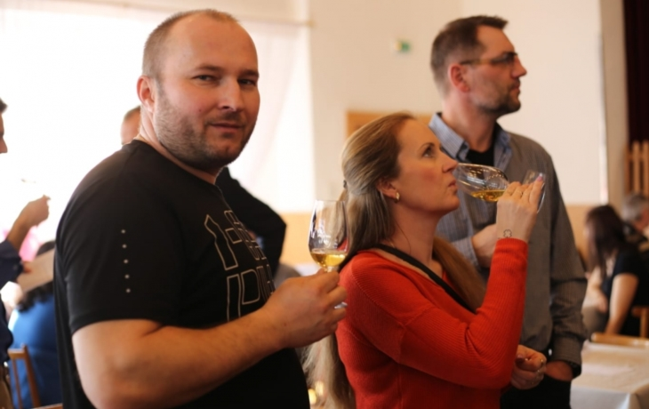 Výstava vín v Kudlovicích se nesla v duchu oslav Valentýna