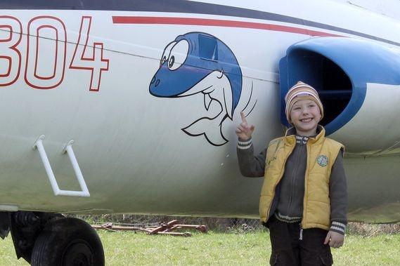 Kantorkův delfín pomůže zachránit chátrající letouny