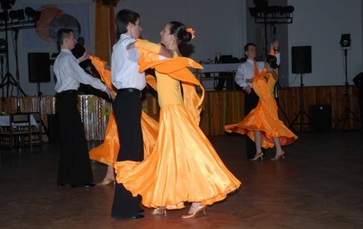 Tančírna na závěr taneční sezony