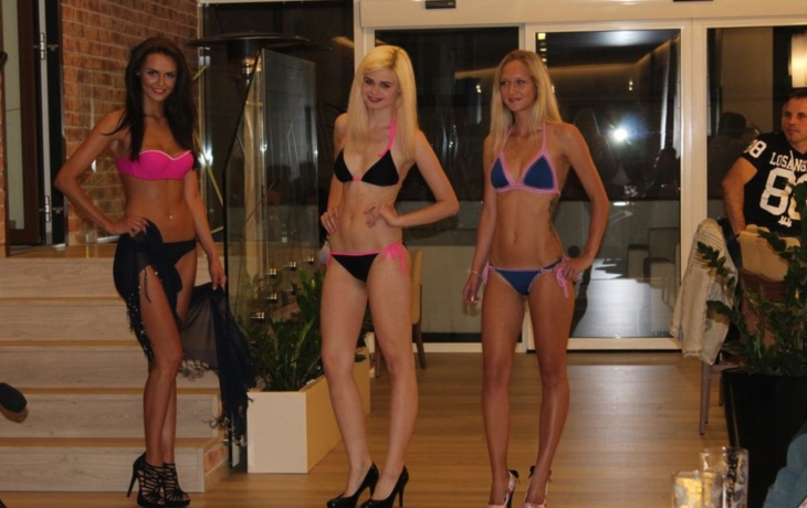 Přehlídku moderovala finalistka České Miss