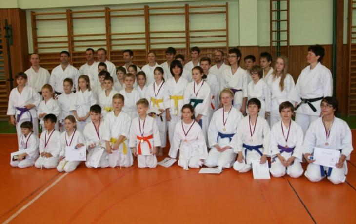 Sedm medailí pro Karate-do