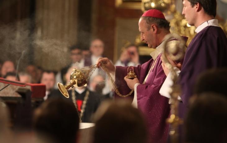 Na Velehradě se loučili s kardinálem Špidlíkem