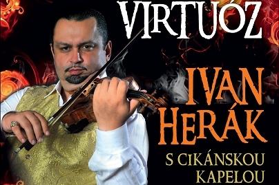 Cikánský virtuos dnes nakrojí cyklus koncertů