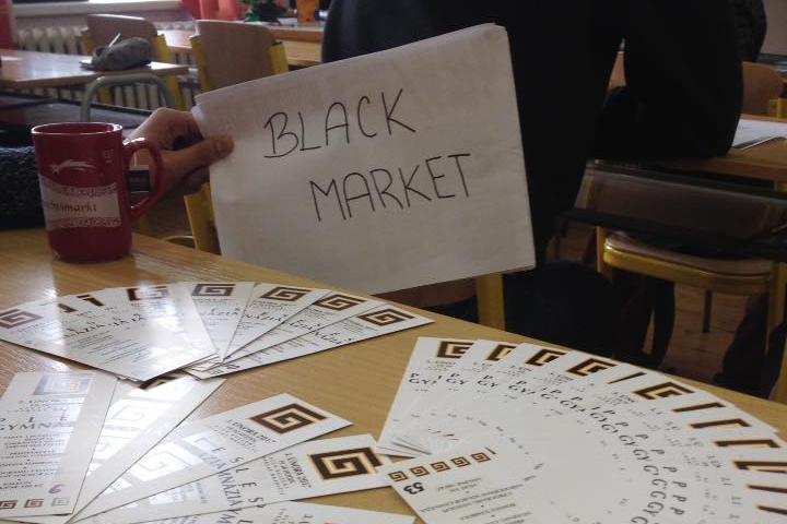 Studentská finta na Pamlskový zákon. Black Market!