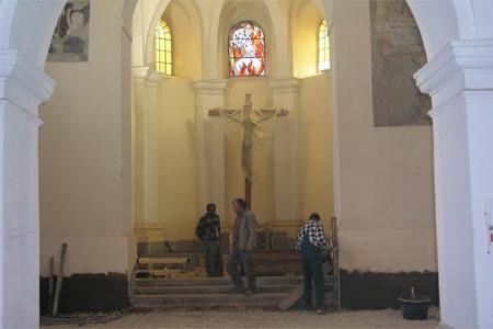 Kostel vydává tajemství