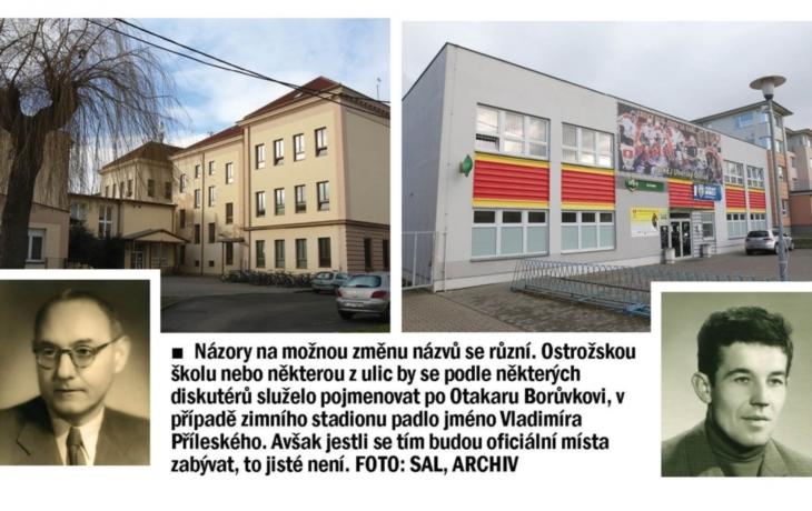 Škola Otakara Borůvky. Nebo stadion Vladimíra Příleského?