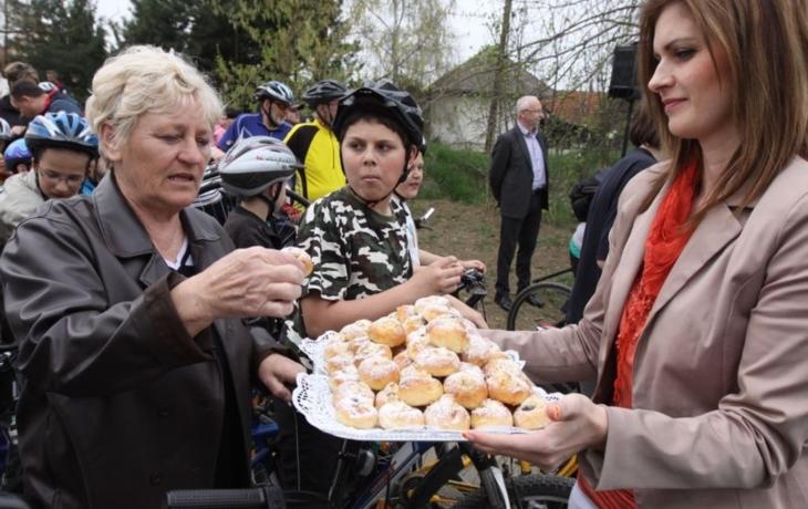 Otevření cyklostezky provázela i modlitba