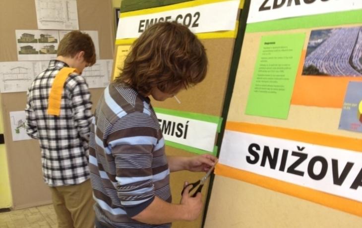 Školáci zápolí v lize oxidu uhličitého