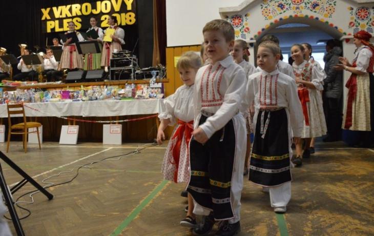 Ples oživila návštěva z Bojkovic