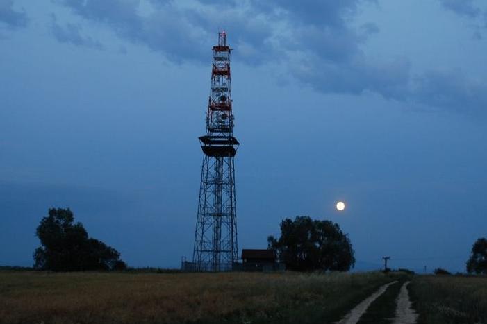 Rozruch u Rovniny. Staví se plynovod a cesta pro cykloturisty